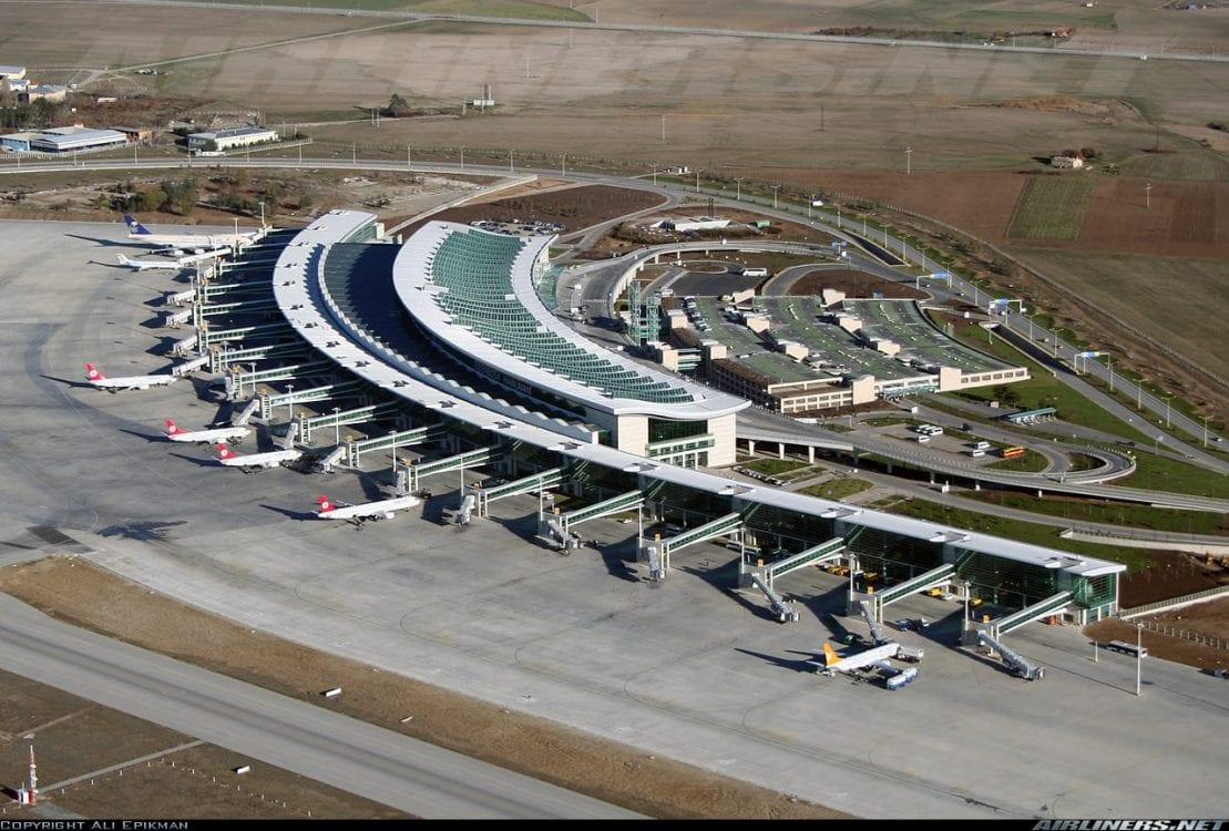 Esenboğa Havalimanı Yeni İç ve Dış Hatlar Terminal Binaları