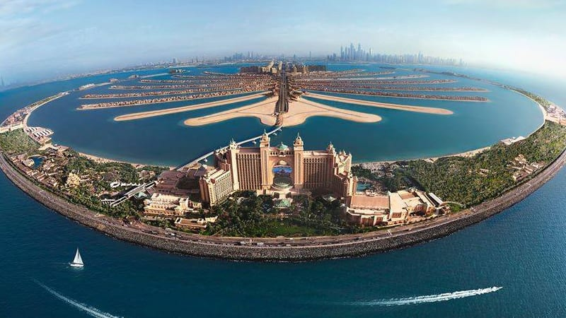 Atlantis Royal Towers and Atlantis Waterpark